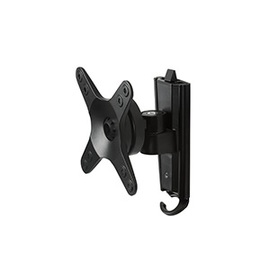 BTV112/B, Wall Mount Tilt & Swivel Bracket. Up to 100 x 100 VESA Mount. Up to 15kg Supported. B-TECH