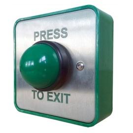 CQR, XB/GD01P/DR, Green Dome Exit Button 01P/DR