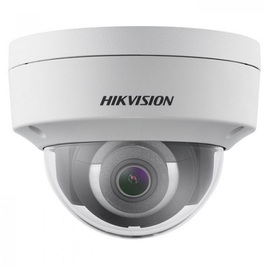 DS-2CD2165G0-IS(2.8MM), 6 MP IR Fixed Dome Network Camera, Audio/Alarm I/O