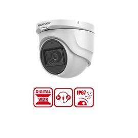 DS-2CE76D0T-ITMFS[2.8MM], 2MP TVI Turret Audio Camera