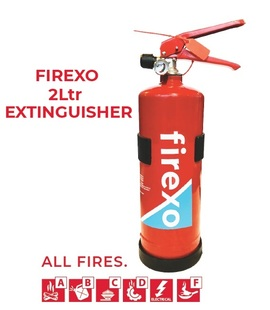 FIREXO-2L, Firexo 2Ltr extinguisher for All fires, fast