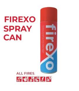 FIREXO-AEROSOL, Firexo Spray Can for All fires, fast