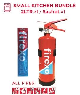 FIREXO-KITCHENPACK, SMALL KITCHEN BUNDLE - 2LTR x1 / Sachet x1