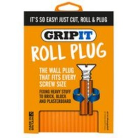 GripIt (RPLUG1) Roll Plug Sheet of 1