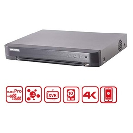 Hikvision, DS-7204HUHI-K1(S), 4 Channel 5MP Turbo HD DVR