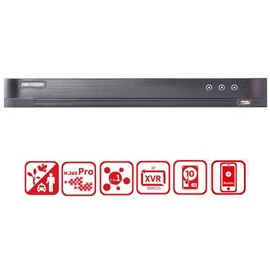 Hikvision, DS-7208HUHI-K1(S), 8 Channel Turbo HD DVR - NO HDD