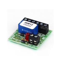 IS (IS M12/4) 12v (2Amp) Mini Double-Pole Polarised Relay - Stripe of 4 Modules