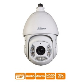 SD6C430I-HC, CVI 4MP IR lamp 30 x zoom speed dome external