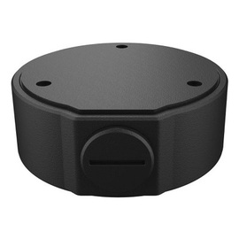 UTR-JB03-H-IN BLACK, 3-inch Fixed Dome Junction Box BLACK for IPC36XX Series